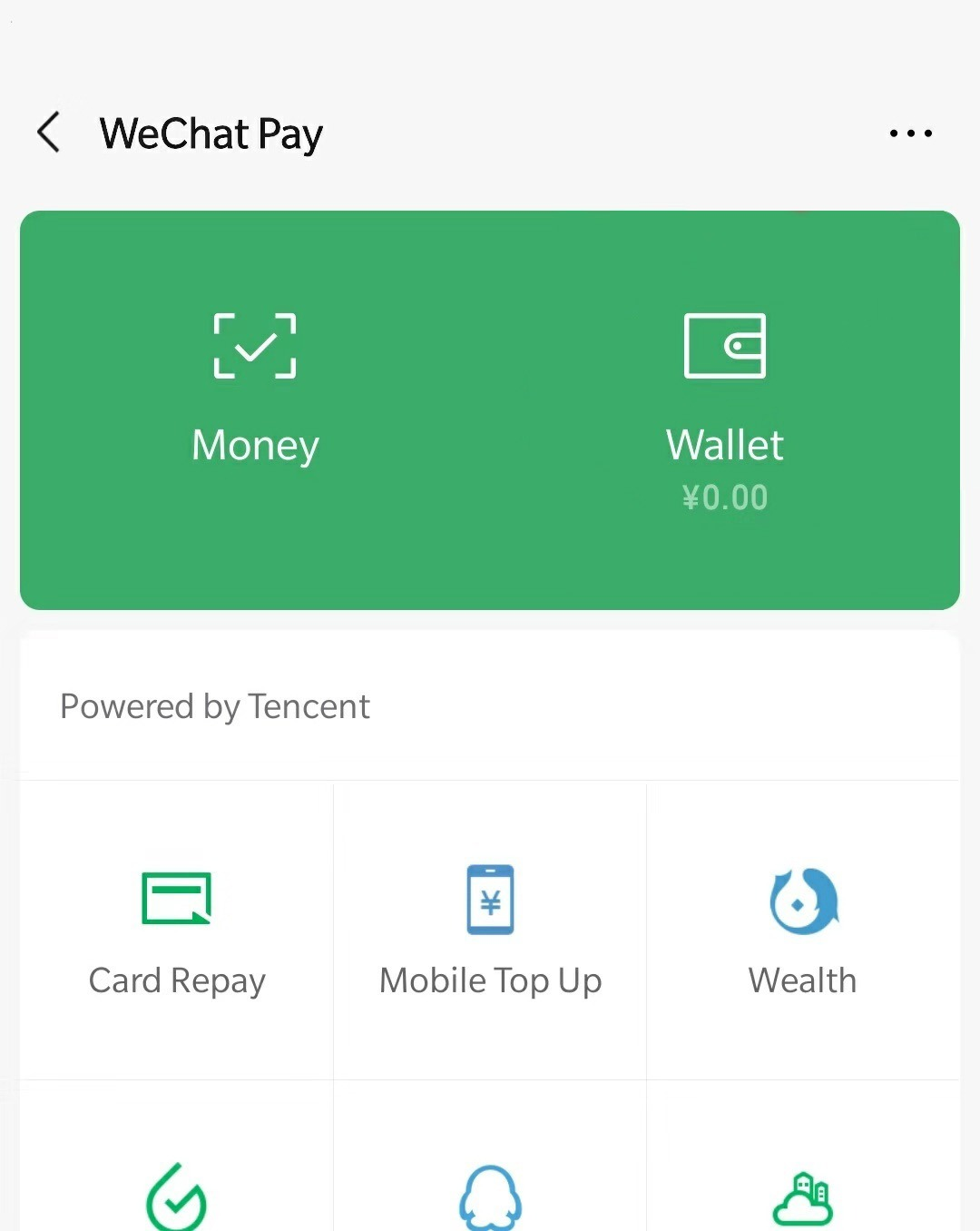 usa wechat pay sin un banco chino