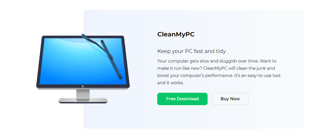 Instale CleanMyPC en su PC